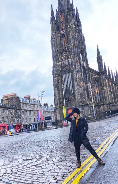 Caminata por la Royal Mile.