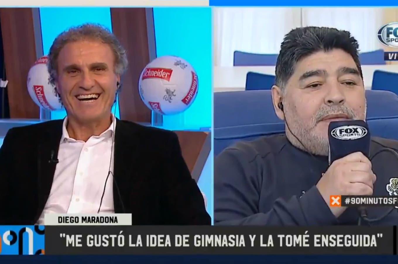 Maradona y Ruggeri: el 'atraco' a la utilería de la selección y cómo sería la reacción de Diego ante el VAR