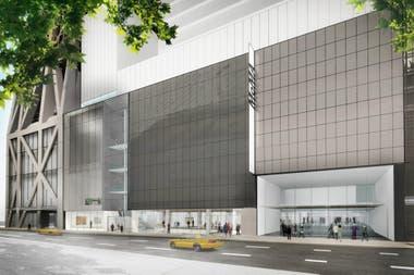 Render de la fachada del edificio ampliado del MoMA, diseñada por el estudio Diller Scofidio + Renfro