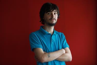 Hernán Tamargo, de 27 años, estuvo preso en una cárcel de Medio Oriente por tener un blister de Rivotril
