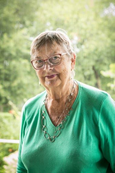 Úrsula Manegold tiene 80 años y dedicó la mitad de su vida a la docencia en la Goethe Schule.