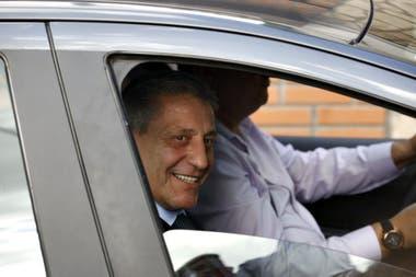 Gobernadores llegan a la reunión en la quinta de Olivos