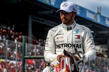 Desde las redes sociales, Lewis Hamilton enseña su activa participación en la batalla contra el racismo