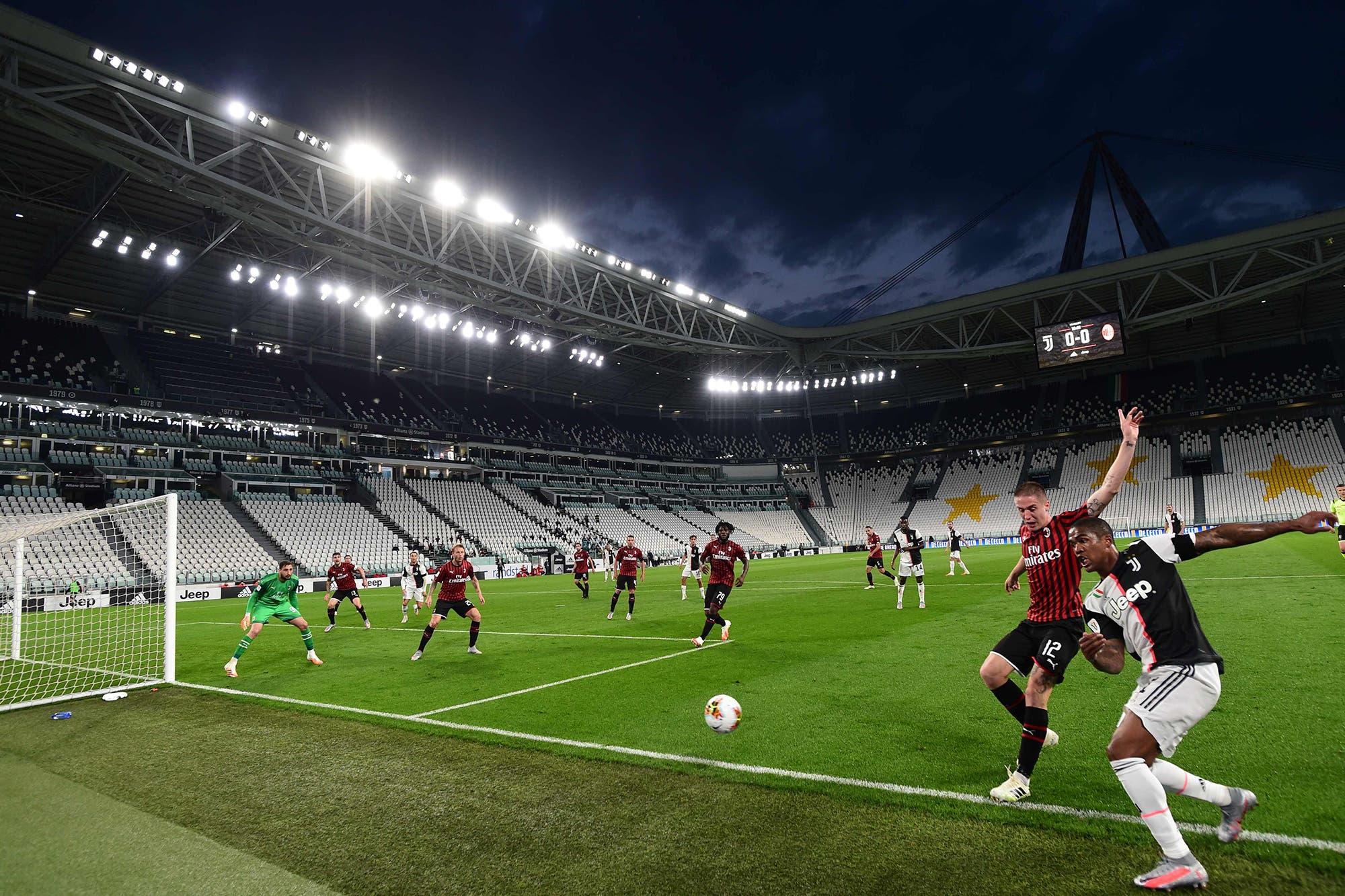 Juventus, finalista de la Copa Italia: Cristiano Ronaldo falló un penal, pero igual el 0-0 con Milan le alcanzó para clasificarse