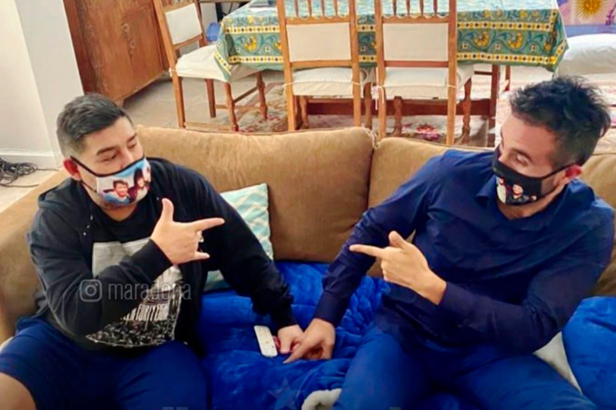 """Diego Maradona: dieta estricta y """"golpe de estado"""" en su entorno"""