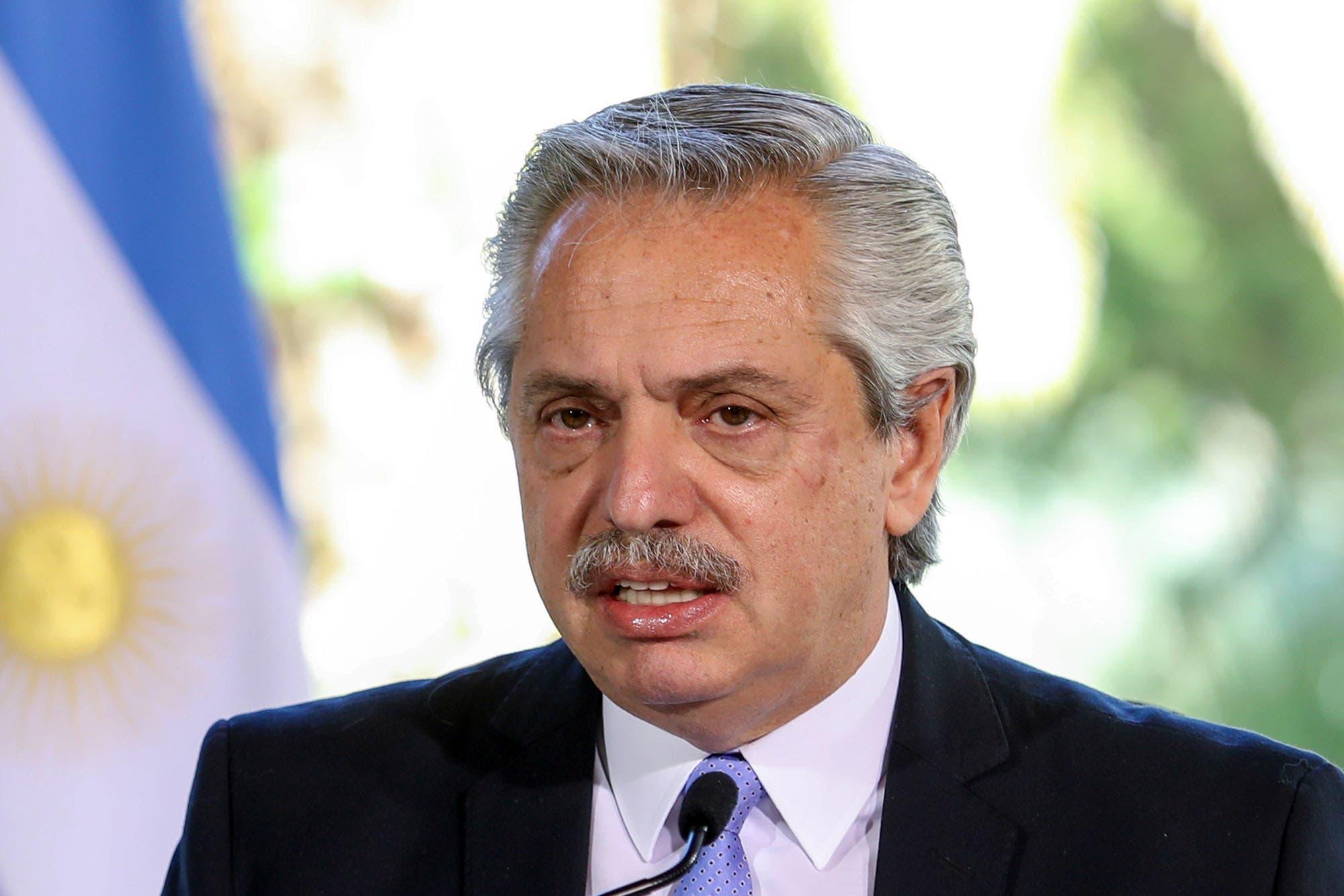 """Deuda. Alberto Fernández: """"Nadie confía en Martín Guzmán más que yo"""""""