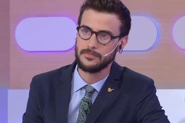 Diego Leuco reemplaza por estos días a Jorge Lanata en Lanata sin filtro, en radio Mitre