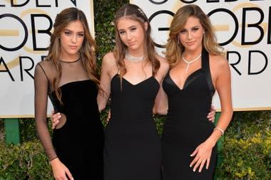 Sistine, Scarlet y Sophia Stallone, las hijas menores del actor