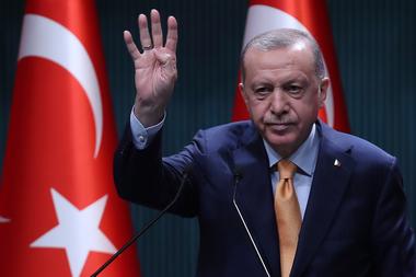 El presidente de Turquía, Recep Tayyip Erdogan, apoyó abiertamente a Azerbaiyán