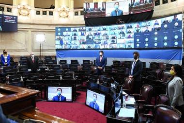 La votación en el Senado fue por 56 votos a favor y 12 en contra