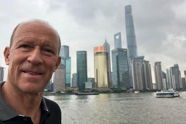 Ciudadano del mundo, pero en esta caso, como turista: Calderón en Shanghai