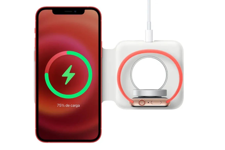 MagSafe Duo: Apple pone a la venta el cargador inalámbrico para darle energía en simultáneo al iPhone y el Apple Watch