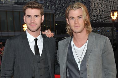 Los hermanos Hemsworth pisan fuerte en Hollywood
