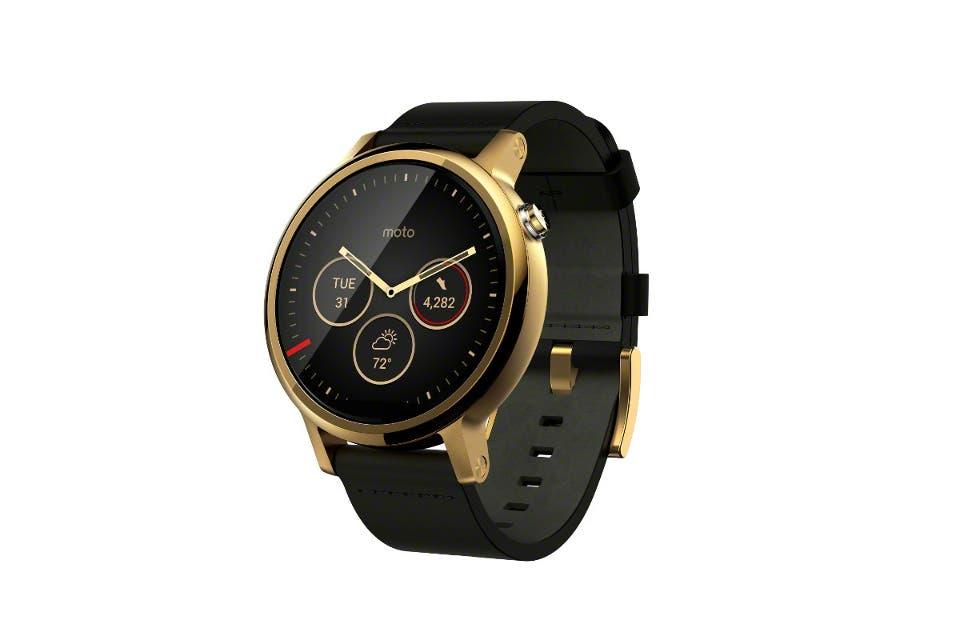 1926aa3e71ad ... Motorola renueva su reloj inteligente con dos versiones del Moto 360
