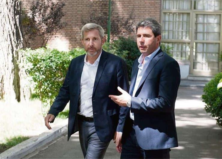 Frigerio se reunió con Uñac, después de las tensiones por la reforma previsional