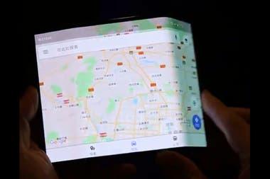 Así se ve la pantalla del dispositivo plegable del prototipo de Xiaomi
