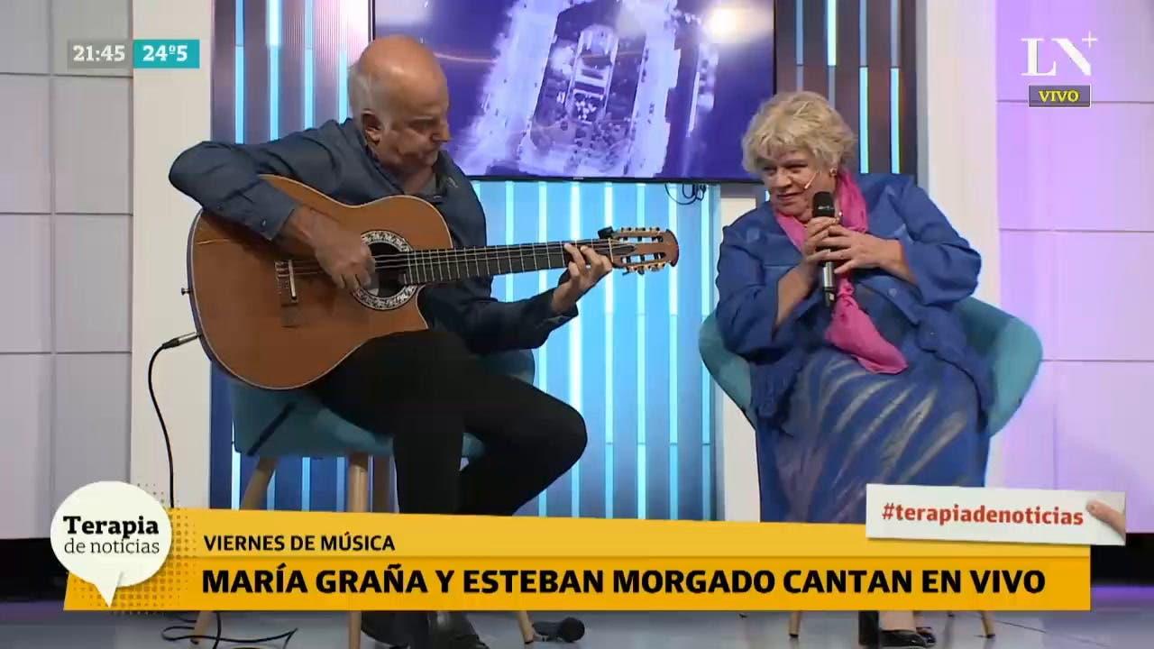 María Graña, emocionada por un halago de la memorable Mercedes Sosa