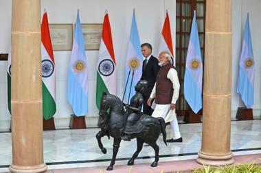 Macri y Modi firmaron un protocolo sanitario que permitirá el ingreso de productos argentinos al país asiático; se espera que el acuerdo favorezca a las economías regionales
