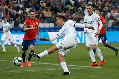 Dybala marcó el segundo de la selección