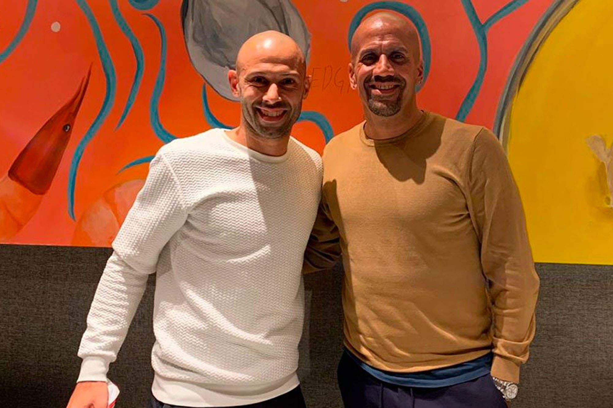 Estudiantes: Juan Sebastián Verón oficializó la llegada de Javier Mascherano para el próximo año