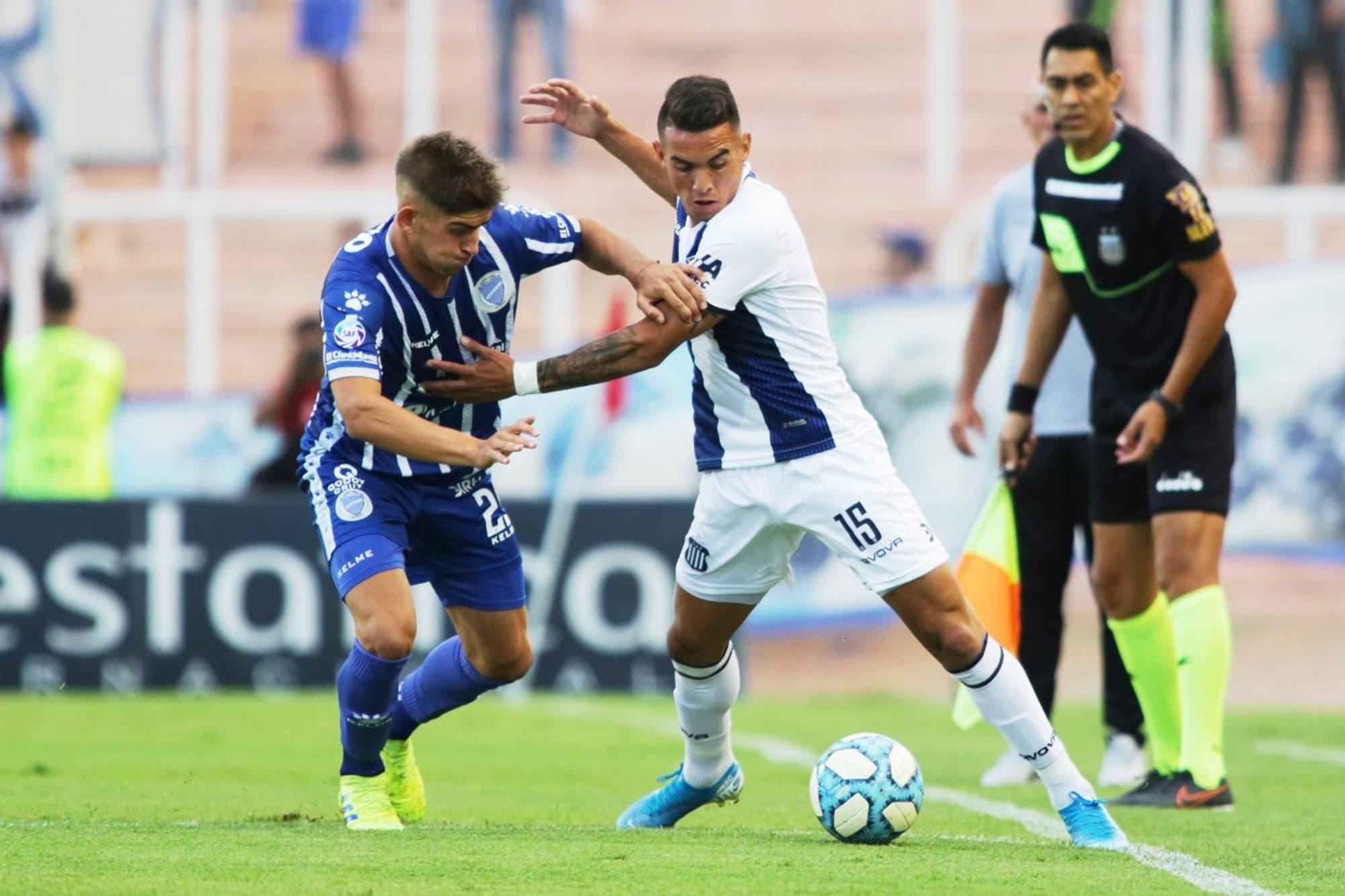 Godoy Cruz-Talleres, por la Superliga: la T festeja en Mendoza con una ráfaga