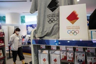 """El merchadising no se alterará, pues el nombre de los Juegos seguirá siendo """"Tokyo 2020"""" (en inglés)."""