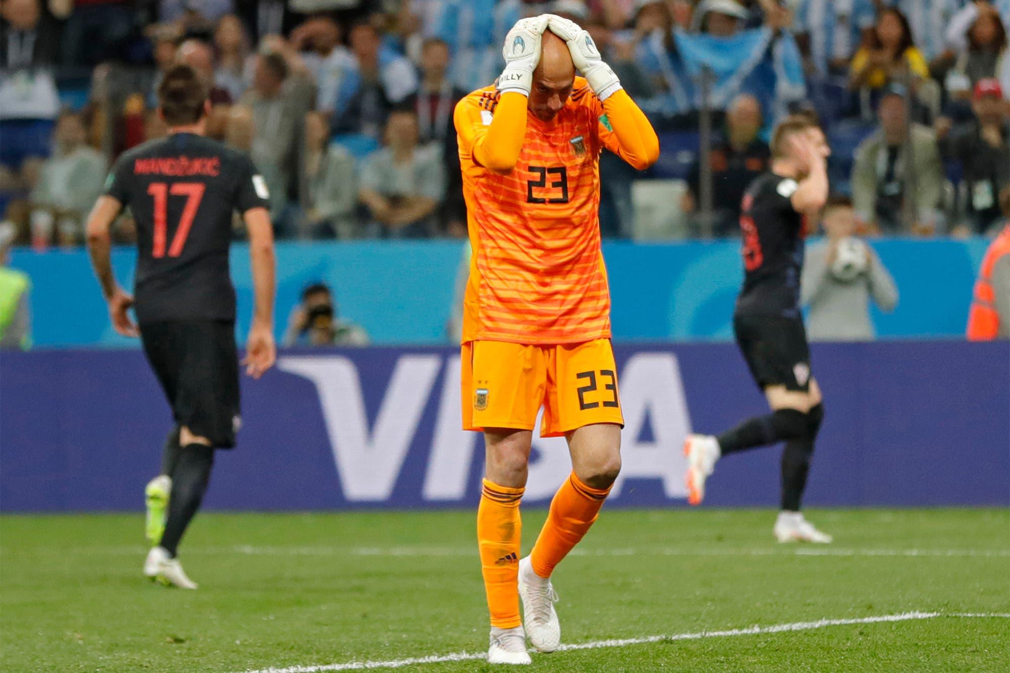 """Wilfredo Caballero, categórico con Sampaoli y la experiencia del Mundial Rusia 2018: """"Si fuera fanático, lo hubiese mandado..."""""""