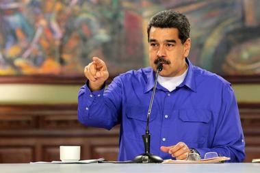 Maduro, disgustado por el fallo en la Corte británica