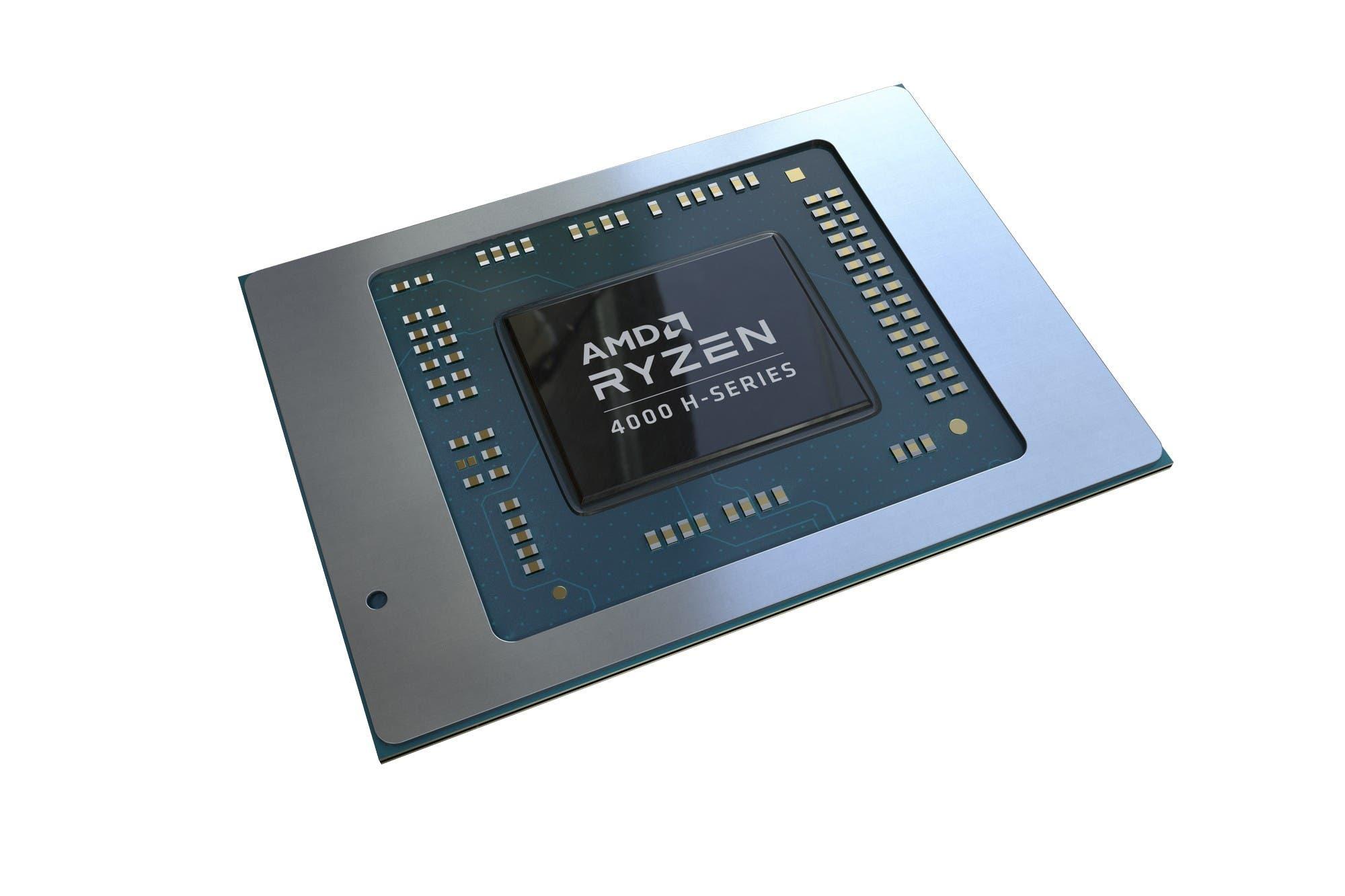 AMD presentó su nueva línea de procesadores Ryzen 4000 para computadoras portátiles