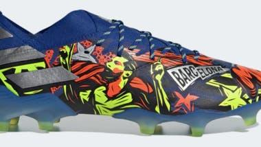 Así son los botines que lucirá Leo Messi en la Champions.