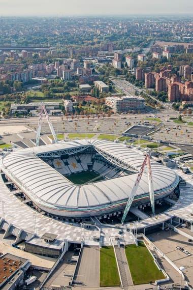 Estadio Allianz, de Juventus. Crédito: www.juventus.com