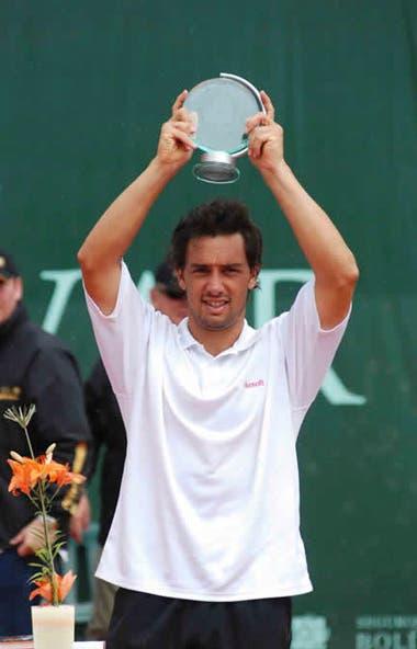 En los dos años y medio que Mariano Puerta jugó tras la segunda sanción por doping, ganó solamente un challenger: en Bogotá 2008.