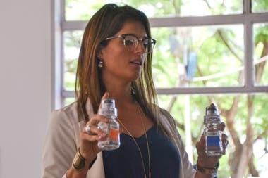 En diciembre pasado, en un Nacional de tenis en Hacoaj, Agustina De Giovanni, ex directora de la Organización Nacional Antidopaje, brindó una charla sobre prevención de dopaje.