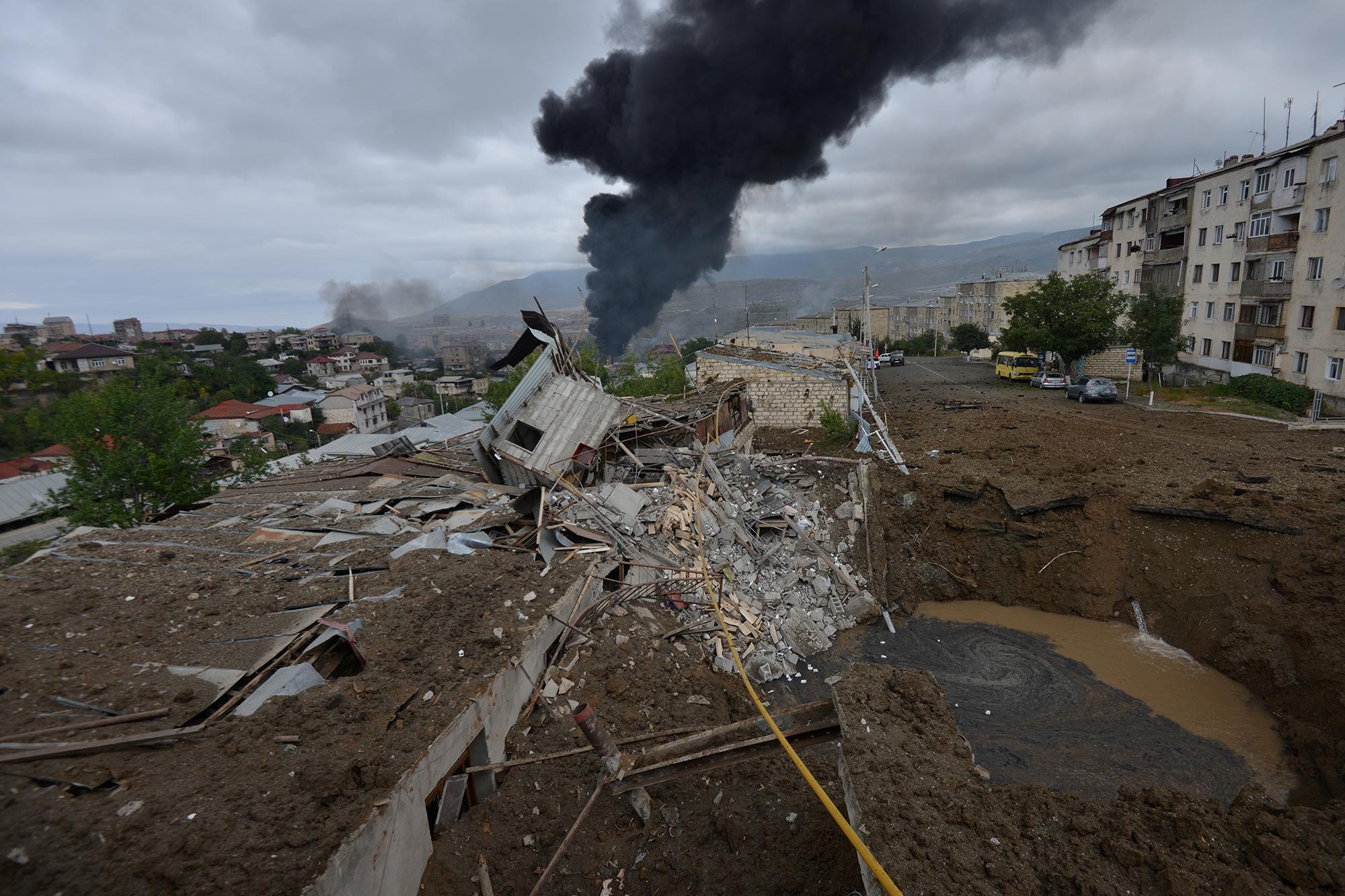 Vladimir Putin toma vuelo en el Cáucaso: se presenta como pacificador en el conflicto de Nagorno Karabaj
