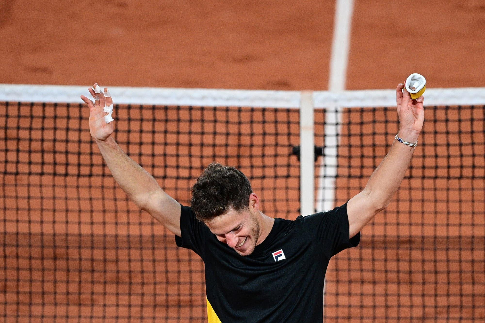 Diego Schwartzman: cómo vio el triunfo de Podoroska y qué significa jugar contra Rafael Nadal en Roland Garros