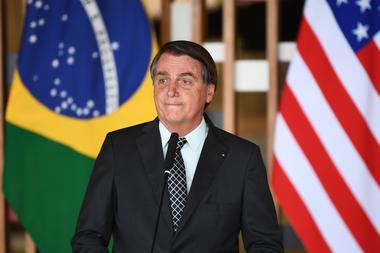 Jair Bolsonaro, tras los disturbios en el Capitolio, apoyó a Donald Trump