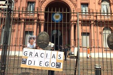 El Gobierno le ofreci a la familia de Diego Maradona velarlo en la Casa Rosada