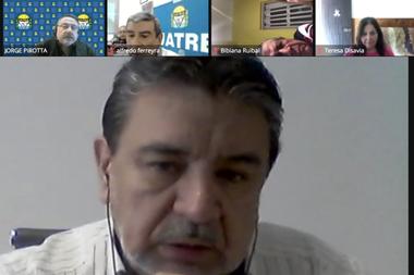 En conferencia de prensa virtual, el secretario general de gremio, José Voytenco, dijo que los trabajadores están esperando una respuesta del sector empresarial