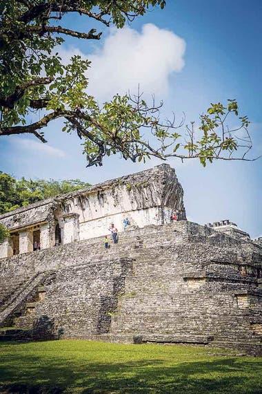 Las ruinas de Palenque.