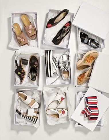 Sandalias bordadas (A pie). 2. Slippers (Sofi Martiré) a24dc8b36fd