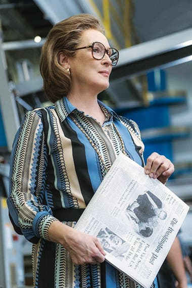 Meryl Streep, en el rol de Graham en el film The Post