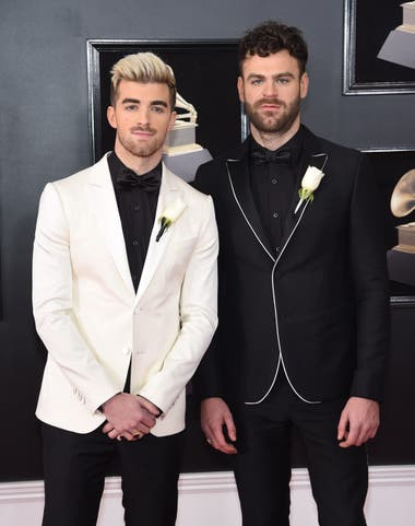 Andrew Taggart y Alex Pall, miembros de The Chainsmokers