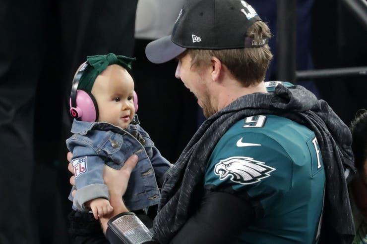 Nick Foles, la gran estrella del Super Bowl