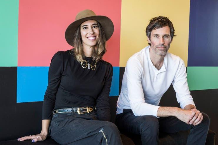 Samantha Scharff y Brad Zeff, los responsables de Giphy Studios