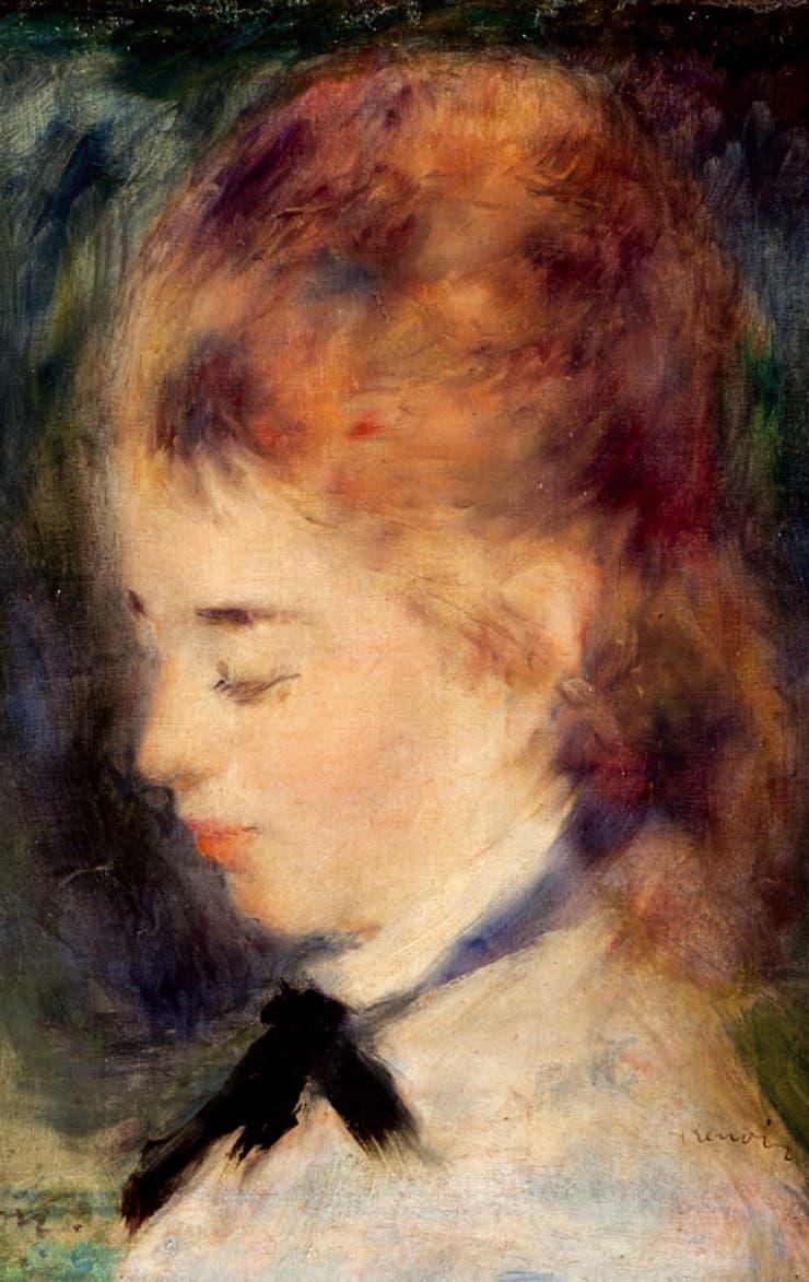 Retrato de mujer de August Rodin