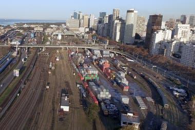 Las vías que se retirarán forman parte de la Terminal de Cargas de Retiro