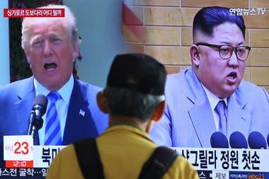 Ayer, Pyongyang suspendió una reunión importante y amenazó bajarse del encuentro con Trump