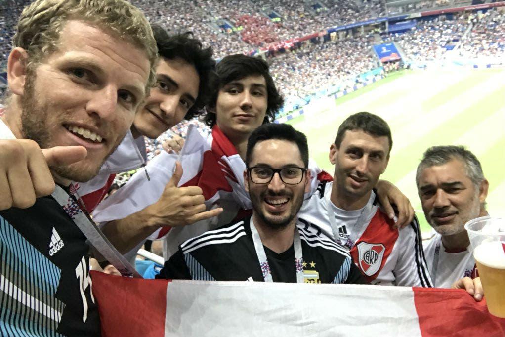 Rusia 2018. Argentina-Perú, el partido que nunca fue: miles de hinchas en las tribunas de Croacia vs. Dinamarca