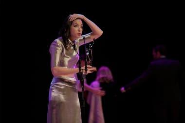 Marta Mediavilla se impuso en la categoría Mejor Intérprete Femenino en Musical Infantil