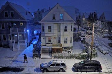Massachusetts ha sufrido grandes caídas de nieve